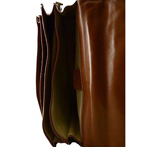 Cartella In Vera Pelle Colore Marrone - Pelletteria Toscana Made In Italy - Business Comprar Barato Oficial Más Barato En Línea Barata Éxito De Ventas Para La Venta Footaction Descuento Obtener La Última Moda ml7dQlJORv
