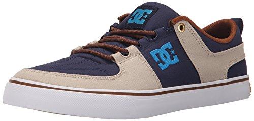 Dc Mens Lynx Spets-up Mode Sneaker Marin / Khaki