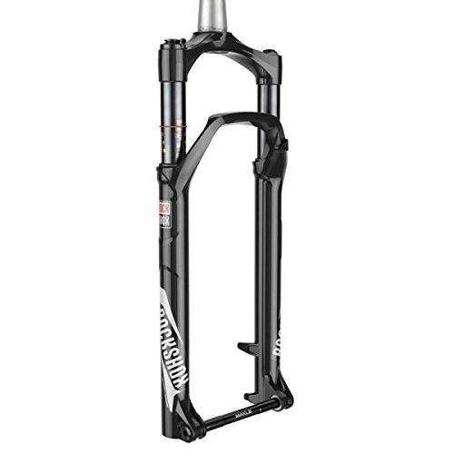 RockShox Bluto RL Fork: 26'', 100mm, 15x150mm, Remote (Included), Tapered Steerer, A3, Gloss Black