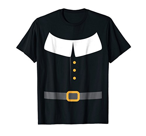 Mens Pilgrim Costume Shirt, Funny Cute Thanksgiving Gift