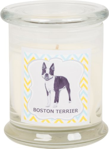 Aroma Paws Breed Candle Jar, 12-Ounce, Boston Terrier (Boston Terrier Cookie Jar)