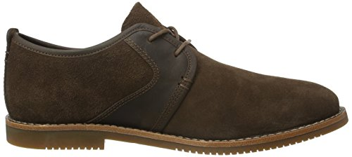 Timberland Brooklyn Park Leathe Potting Soil, Scarpe Stringate Basse Oxford Uomo Marrone (Potting Soil)