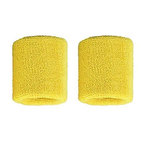 1 par de muñequeras de algodón Puro Muñequeras Blandas Bandas de ...