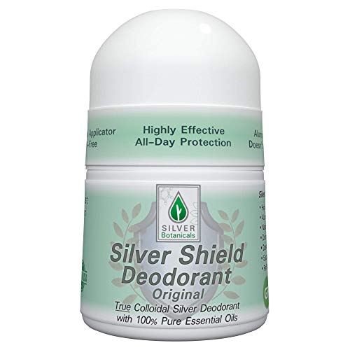 Silver Shield Deodorant - Original Formula - Roll-on, 2 oz.