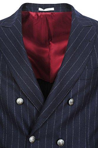 Brunello Cucinelli Giacca Uomo Blu Scuro Solo Blazer Blu scuro 52 normale