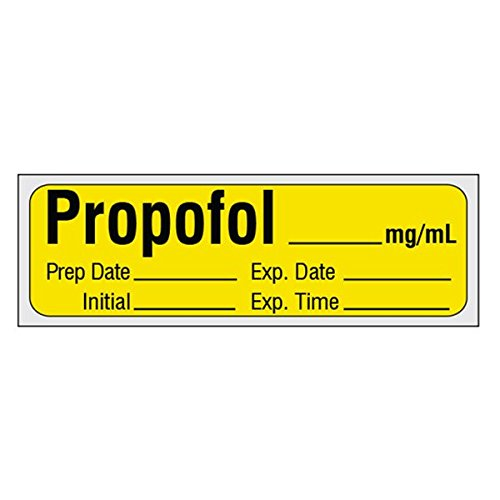 Induction Agent Labels PROPOFOL_mg/mL