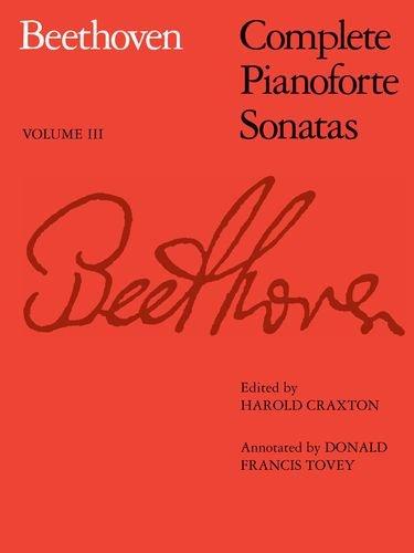 Complete Pianoforte Sonatas, Vol. III (v. 3) ()