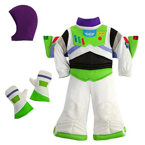 Disney Deluxe Buzz Lightyear Costume for Baby Toddlers Halloween (12-18 Months) (Disney Buzz Lightyear Costume)