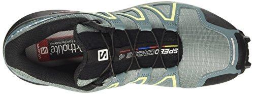 Blue Multicolor 4 Trail Black Enamel Calzado Running de para Speedcross W Arctic Mujer Salomon ORw6aa