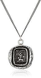 "Pyrrha ""Talisman"" Sterling Silver Friendship Necklace, 18"""