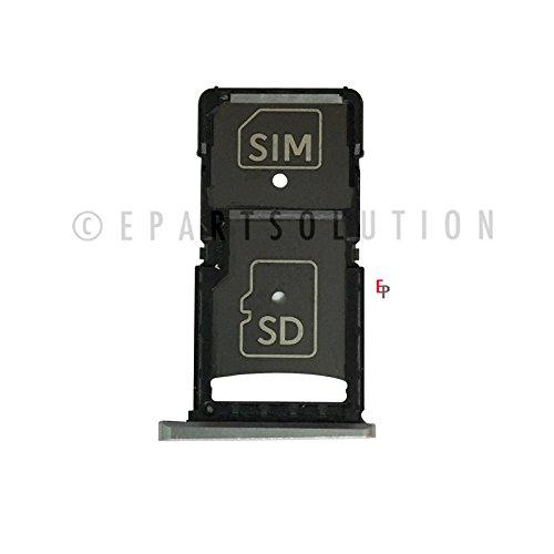 ePartSolution_Motorola Droid Turbo 2 XT1580 XT1581 XT1585 SIM Card Tray Holder Slot + SD Memory Card