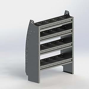 ranger design contoured shelf unit aluminum. Black Bedroom Furniture Sets. Home Design Ideas
