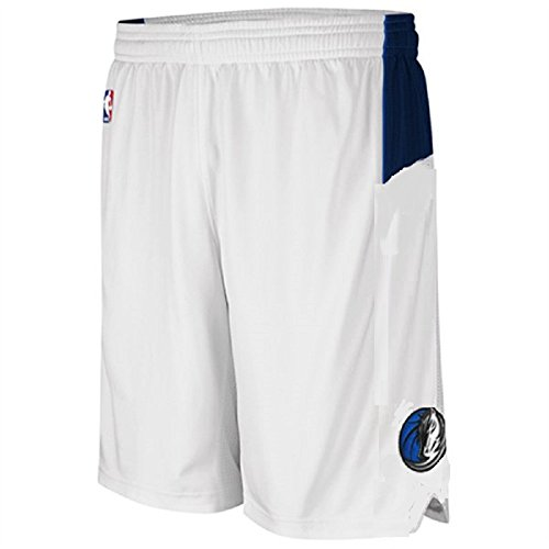 Youth Home Replica Basketball Shorts (Dallas Mavericks NBA Youth Sized Replica Home Shorts White (Youth Xlarge 18/20))