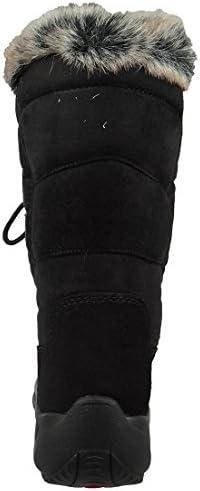 Inverno delle Donne Lackner Stivali Invernali Scarpe ramponi 7606 Renate LS TX OC Nero