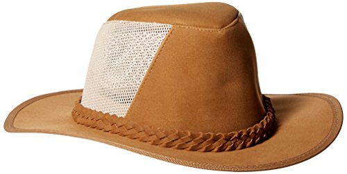 DPC Outdoor Design Men's Soaker Hat with Mesh Back, Tan, Large/X-Large