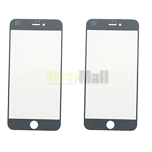 Price comparison product image 2X New White Front Outer Screen Glass Lens Replacement For iPhone 6 Plus 5.5
