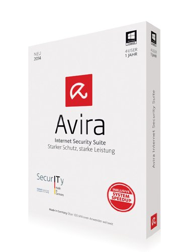 Avira Internet Security Suite 2014 - 4 PCs / 1 Jahr