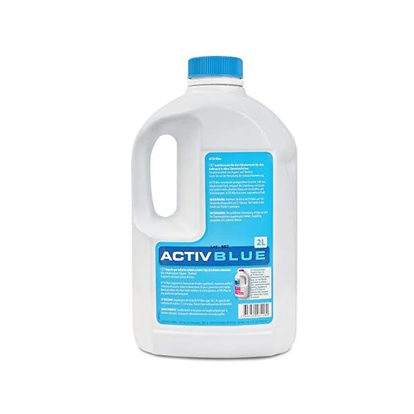 41zeumbDC%2BL Set Thetford Activ Blue & Aktiv Rinse Toiletten Zusatz je 2 Liter, wahlweise mit Toilettenpapier (Blue + Rinse)