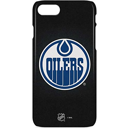 - Edmonton Oilers iPhone 8 Case - Edmonton Oilers Black Background   NHL X Skinit Lite Case