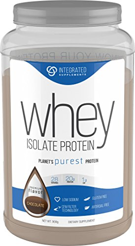 Integrated Supplements CFM Whey Protein Isolate Diet Supplement Dutch Chocolate 2 Pound