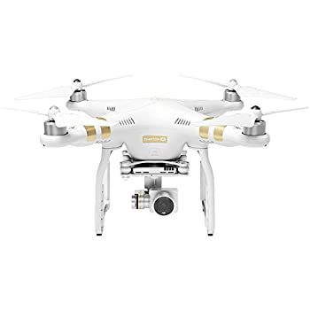 DJI Phantom 3 4K Quadcopter Aircraft with 3-Axis Gimbal and 4k Camera, Bundle with Spare Battery and Aluminum Case