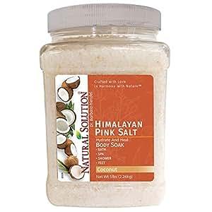 Soothe and Relax Coconut Bath Salt Detox- 5 lbs
