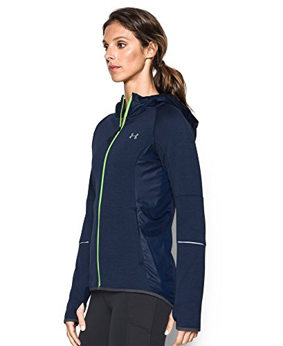 Under Armour Women's Storm Swacket Full Zip, Midnight Navy/Midnight Navy, Medium by Under Armour (Image #2)