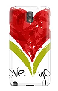 5744824K17684169 Premium Best Love Quotes With Image Heavy-duty Protection Case For Galaxy Note 3