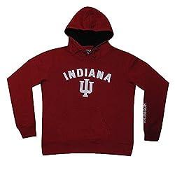 NCAA Youth INDIANA HOOSIERS Athletic Pullover Hoodie / Sweatshirt M DarkRed