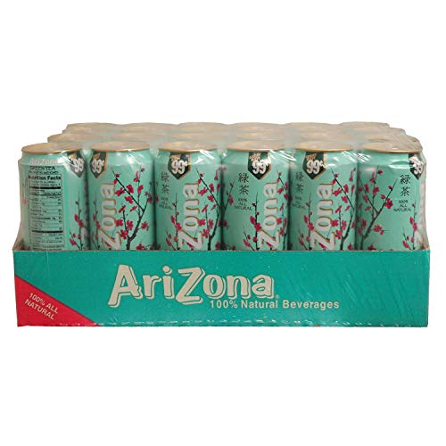 Arizona Green Tea, 23-Ounces (Pack Of 24) ()