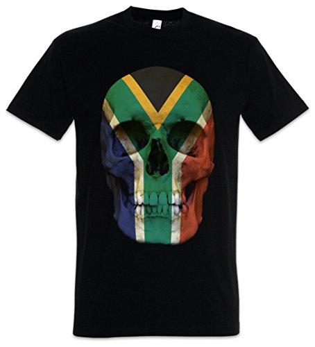Urban Backwoods Classic South Africa Skull Flag T-Shirt - Südafrika T-Shirt Sizes S - 5XL by Urban Backwoods