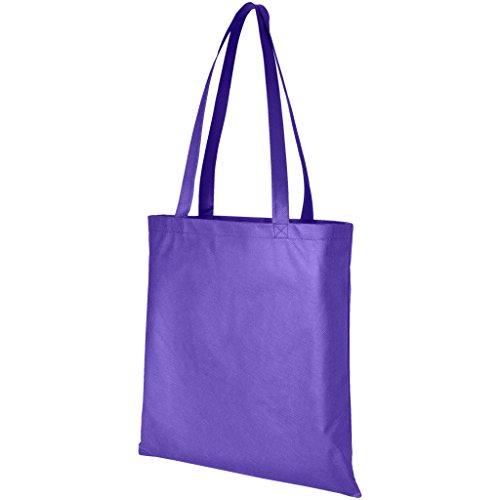 Modello Viola Tessuto Bag Proiettile Tote In Zeus 8YITqw4