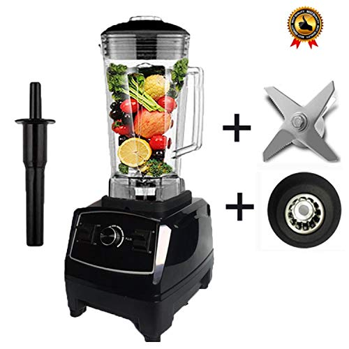 EU/US/AU/UK Plug 3HP 2200W G5200 Heavy Duty Commercial Grade Blender Mixer Juicer Food Processor Ice Smoothie Bar Fruit,Black balde drive,China,US Plug