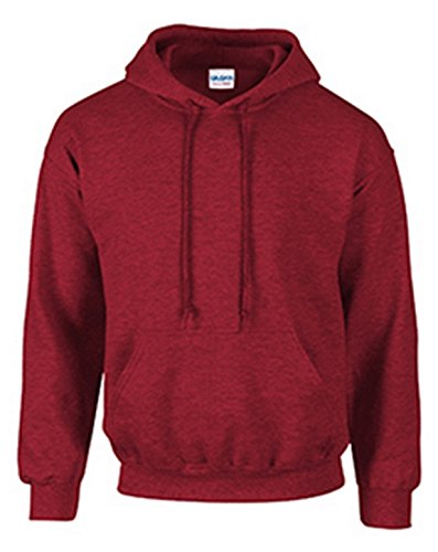 Classic Pill (Gildan 18500 - Classic Fit Adult Hooded Sweatshirt Heavy Blend - First Quality - Antique Cherry Red - 2X-Large)