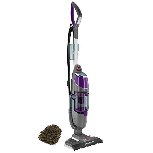Bissell Symphony Pet 1543A, All-in-one Vacuum & Steam Mop (Complete Set) w/ Bonus: Premium Microfiber Cleaner Bundle (Steam Vacuum All In One compare prices)
