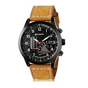 41zezBoxCwL. SS300  - Latest Style Authentic Curren Men's Watches Sports Military Men Quartz Watch,black