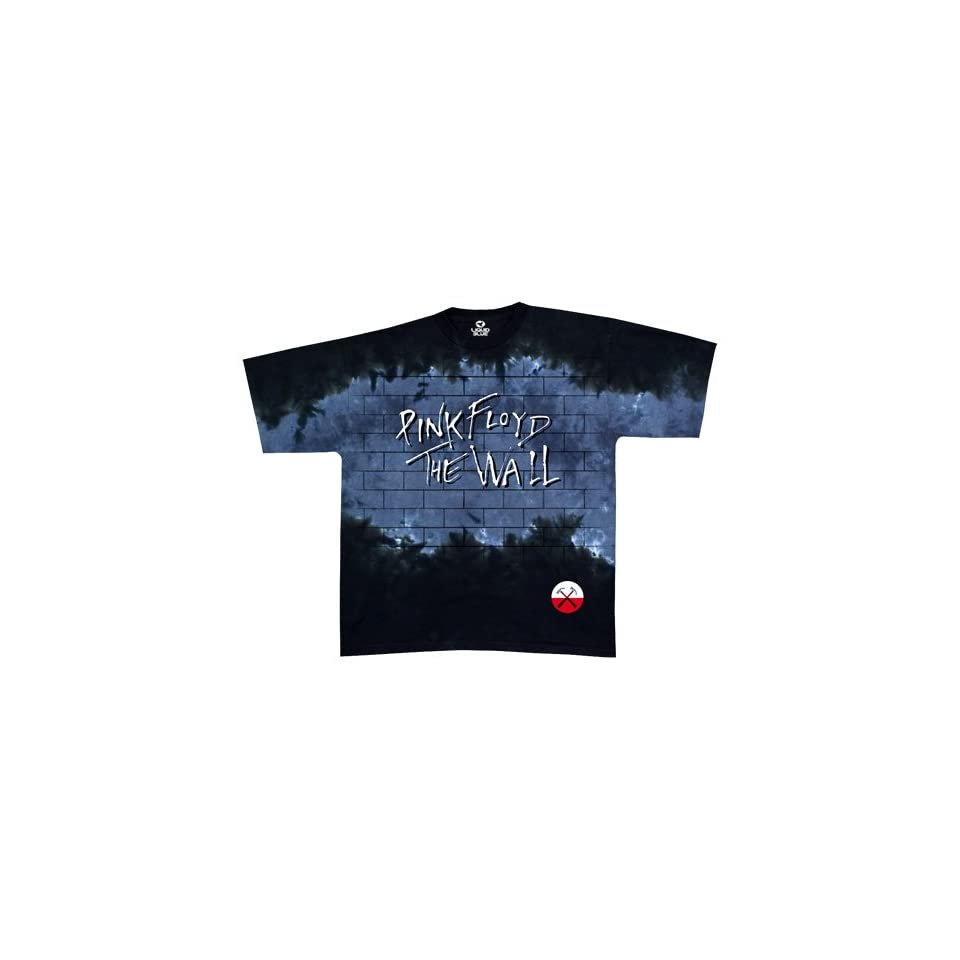 Liquid Blue Mens Pink Floyd The Wall Short Sleeve T Shirt,Multi,Large