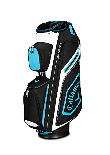 Callaway Golf 2019 Chev Org Cart Bag, Black/Blue/White