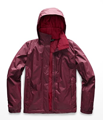 (The North Face Women's Resolve 2 Jacket Fig/Rumba Red Small )