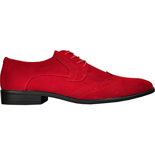 Classic Leather King Shoe Lining Oxford Wide Available Dress Width Red bravo Men wIqx446