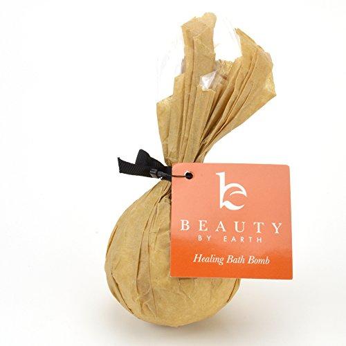 Bombe de bain - grand bain de guérison Fizzy préparés avec des ingrédients biologiques & naturels pour se détendre & déroulage - parfums luxuriants - Made in USA (détente Detox)