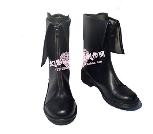 [Steins Gate Makise Kurisu cosplay costume Boots Boot Shoes Shoe] (Kurisu Makise Cosplay Costume)