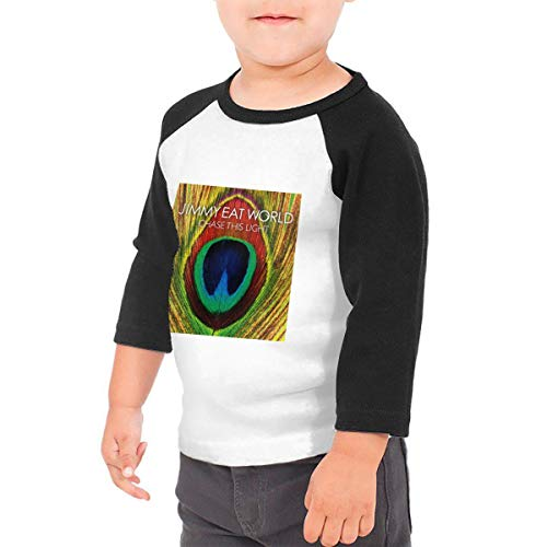Minzhaooo Kids&Boy's&Girl's Jimmy Eat World Chase This Light Slim Raglan T-Shirt 4T ()