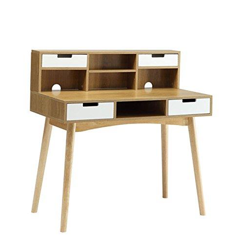 Convenience Concepts Oslo Deluxe Desk With Hutch Furniture
