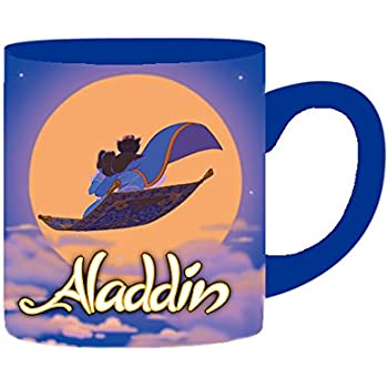Silver Buffalo DQ8832 Disney Aladdin Ceramic Mug, 14-Ounces