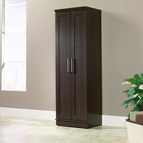 Sauder 411985 HomePlus Storage Cabinet, L: 23.31 x W: 17.01 x H: 71.18, Dakota Oak finish