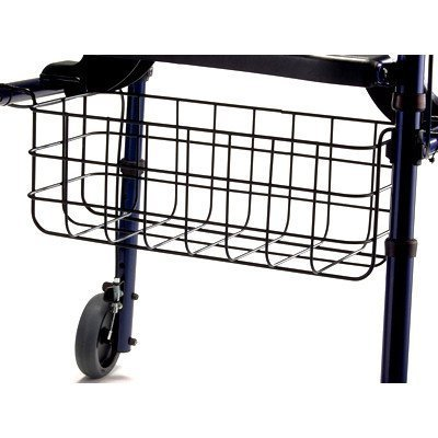 - Rollite Rollator Basket Size: Adult by Invacare