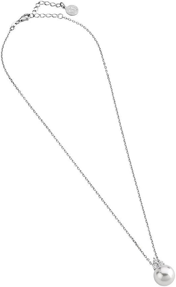 Majorica Tu Y Yo - Collar de Plata de Ley con Perla