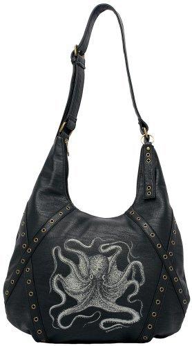 Sourpuss Octopus Hobo Purse (Tattoo Hobo Handbag)