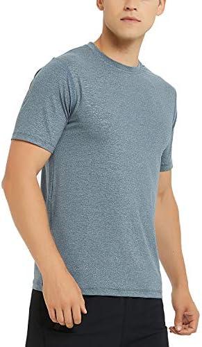 アオキ(aoki outdoor)ランニングシャツ メンズ スポーツtシャツ トップス トレーニングウェア 半袖 フィットネスウェア 機能性 Tシャツ ハイパードライ[ ストレッチ・通気・吸汗速乾・UVカット] メンズ